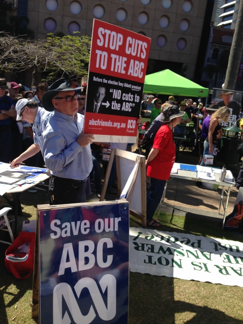Standing up for the ABC