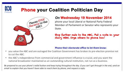 Phone A Coalition Pollie